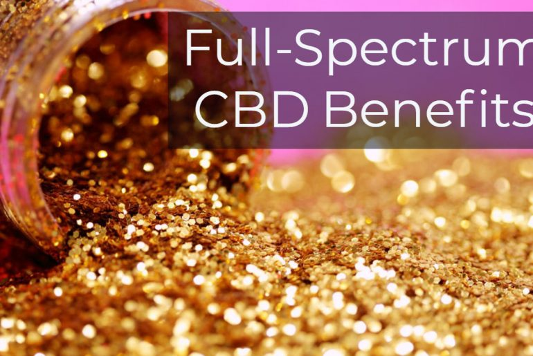 Full spectrum CBD for fitness