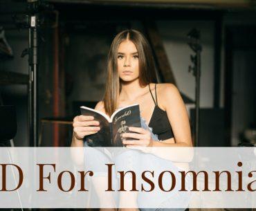 CBD For insomnia